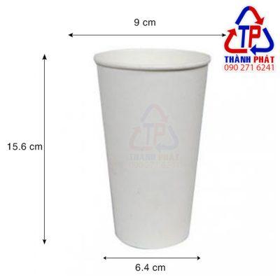 Ly giấy đựng trà sữa 700ml - Ly giấy 22oz - Ly giấy đựng cafe 700ml