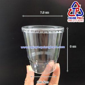 Ly nhựa hàng không - Ly nhựa cứng 220ml - Ly nhựa PS chịu nhiệt