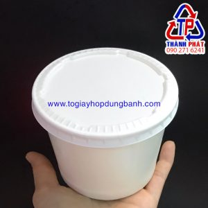 Tô giấy 16oz - Tô giấy 480ml - Tô giấy đựng chè - tô giấy đựng súp
