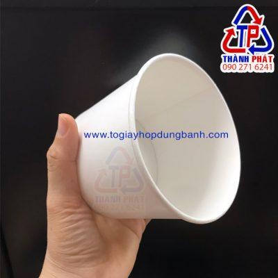 Tô giấy đựng cháo 520ml - Tô giấy đựng súp 520ml