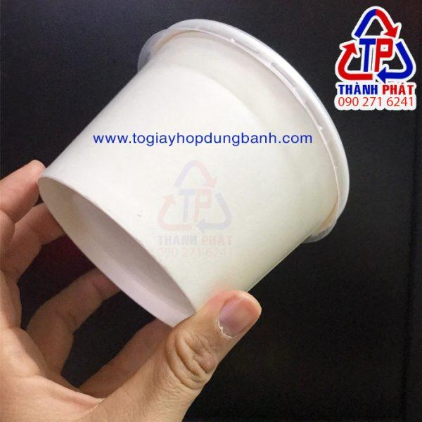 Tô giấy 390ml - Tô giấy đựng chè khúc bạch