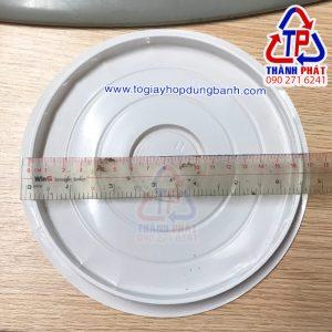 Hộp H25 cao - Hộp nhựa đựng bánh 16cm - Hộp nhựa đựng bánh bông lan trứng muối 16cm