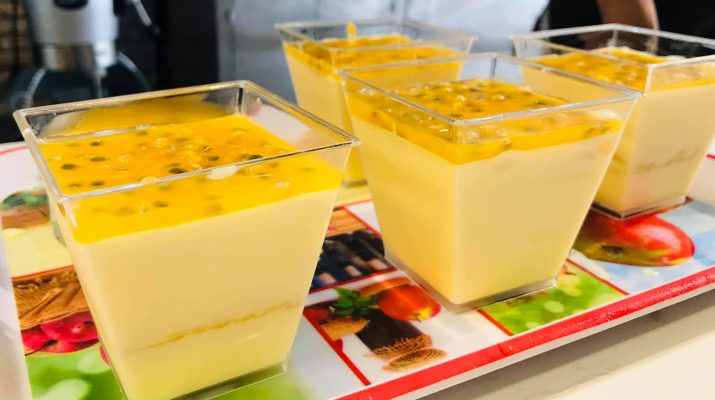 Ly nhựa vuông dùng đựng tiramisu - Hộp nhựa vuông dùng đựng bánh mousse