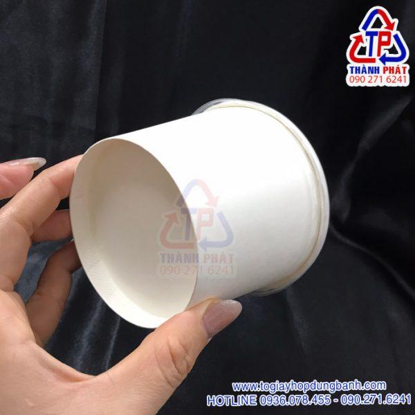 Tô giấy 300ml đựng canh - Tô giấy 300ml đựng chè - tô giấy 300ml đựng kem