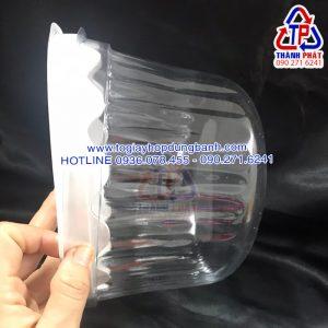 Hộp H47 bầu - Hộp H47 mô - Hộp H47 vòm - Hộp H47 đựng bánh kem 20cm - Hộp đựng bánh đào tiên 20cm
