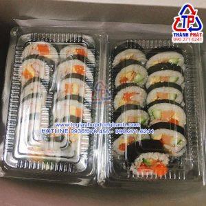 Hộp H50 - Hộp nhựa định hình H50 - Hộp đựng bánh su kem H50 - Hộp đựng sushi H50 - Hộp đựng bánh bột lọc H50