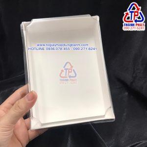 Hộp giấy trắng chữ nhật CL1317 - Hộp giấy chữ nhật màu trắng CL1317 - Hộp giấy CL1317